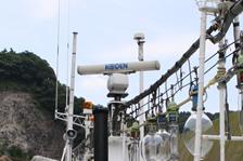 福井・越前・釣り船金松丸のレーダー(KODEN製)